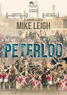 Image result for peterloo film poster