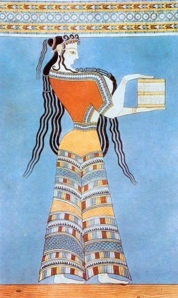 File:Fresco of a Mycenaean woman.jpg