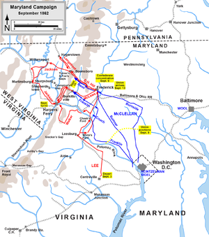how did the battle of south mountain alter the course of the american civil war